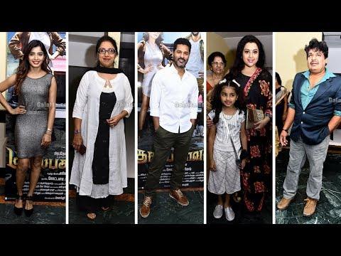 Celebrities Opinion - Gulaebaghavali    Prabhudeva   Hansika   Galatta Exclusive