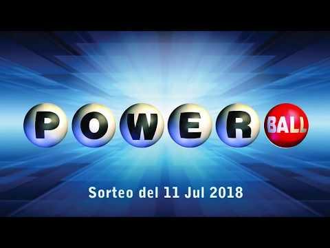 Lotería Powerball, resultado del sorteo del 11 de julio del 2018