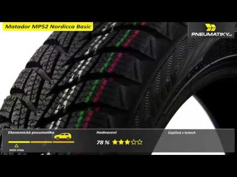 Youtube Matador MP52 Nordicca Basic 185/60 R14 82 T Zimní