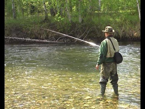 уроки рыбалки на хариуса видео