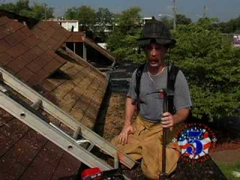 ventilation - Learn the five cuts necessary for an efficient and safe vertical roof ventilation task. If Trey's helmet bothers you, try making as many fires and keeping yo...