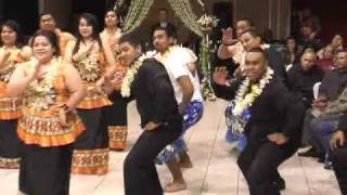 Fijian Dance Item at Wedding Reception Sydney Australia.