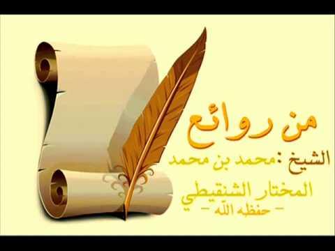 الإيقاعات والنغمات   للشيخ محمد المختار الشنقيطي   YouTube
