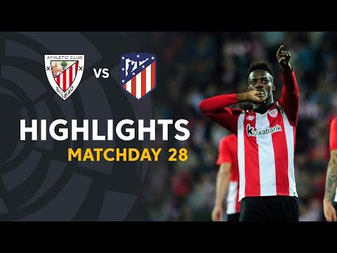 Highlights Athletic Club vs Atletico de Madrid (2-0) - Thời lượng: 90 giây.