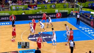 Play of the Game R. Katic BIH-SRB EuroBasket 2013