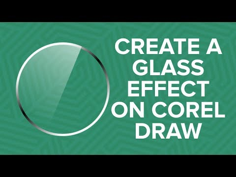 How To Create Glass/gloss Effect In Corel Draw.