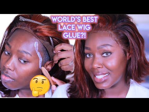 WORLD'S BEST LACE WIG GLUE?! | Lace Wig Install Beginners | Season 5 Episode 3