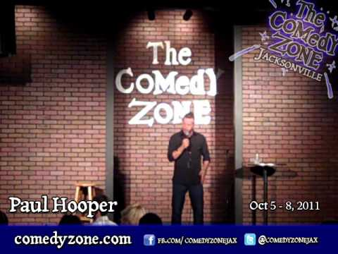 Paul Hooper at the Comedy Zone JAX