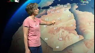 Prévisions météorologiques - 13 juillet 2020