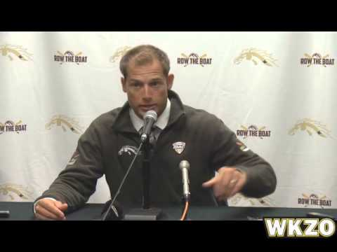 WMU Head Coach PJ Fleck post game press conference after Nicholls loss