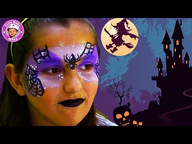 schminken zu halloween hexen make up. Black Bedroom Furniture Sets. Home Design Ideas