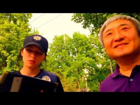 Патрульна поліція оштрафувала екс-мера Запоріжжя (відео)