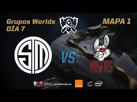 TSM VS MISFITS GAMING - GRUPOS - WORLDS 2017 - DÍA 7