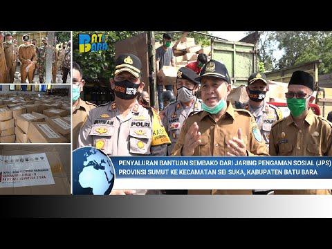 Bupati dan Kapolres Batubara,Langsung Tinjau Datangnya Bantuan JPS Provinsi SUMUT