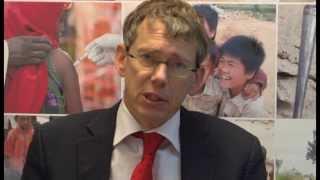 Wim Olthof Of EuropeAid And Elisabeth Coelho-Detournaij On The Resilience Agenda In Ethiopia