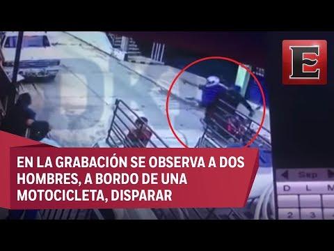 Difunden video del asesinato del periodista Mario Gómez