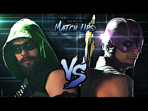 Green Arrow Vs Hawkeye | Minute Match-Ups - Episode 2