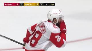 Первый гол Витовски в НХЛ