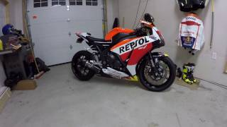 8. New Bike Reveal 2015 Honda CBR1000RR ABS Repsol red bull custom Marquez
