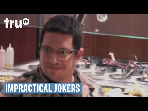 PEOPLE'S SUPERMARKET (O) - Subscribe to truTV for more! http://bit.ly/1db6UsP Starving Impractical Jokers, no plate is safe! Check out new episodes of Impractical Jokers on truTV. Plus...