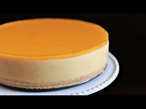 No-Bake Mango Cheesecake Recipe