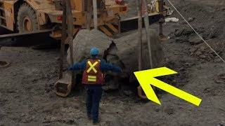 This Guy Finds Ancient Relic, But When He Flips It Over The Weirdest Thing Happens
