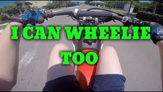 10. I MADE A MOTOVLOG!?!?! | Honda Adventures #1 w/ Honda CRF110F