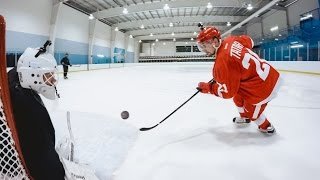 On Episode 1 of NHL After Dark™, Detroit Red Wings forward Tomáš Tatar uses tricks he learned playing street hockey to take on some stickhandling drills. Nex...