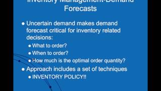 Inventory Management And Risk Pooling In The Supply Chain  Part 1