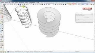 Video SketchUp Quick Tips! Cylindrical Helices (Hélices cilíndricas) MP3, 3GP, MP4, WEBM, AVI, FLV Desember 2017