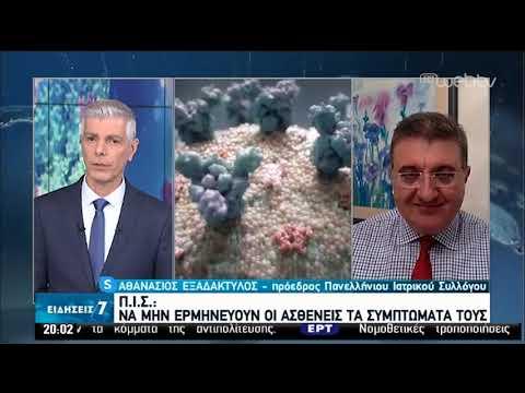 Πόσο μακριά φτάνει ο ιός;-Τι λέει ο πρόεδρος του ΠΙΣ | 11/04/2020 | ΕΡΤ