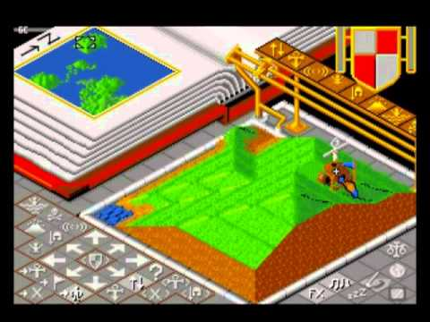 Populous PC Engine