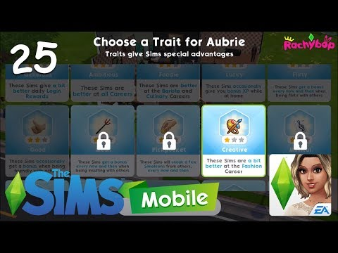 The Sims Mobile Appisode 25 // Creative Trait Unlocked!