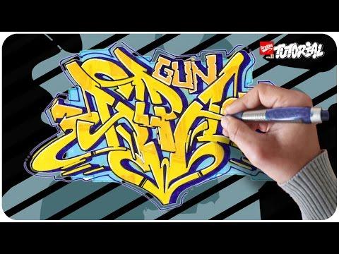Alpa Gun – Graffiti Tutorial – Schritt für Schritt
