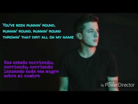 Attention (Atención) (Lyrics español/english)|Charlie Puth
