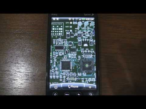 Video of Circuit Board Live wallpaper
