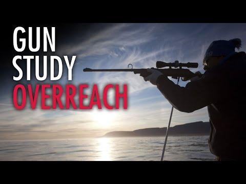 Paintball gun a firearm? Flawed study is fake news