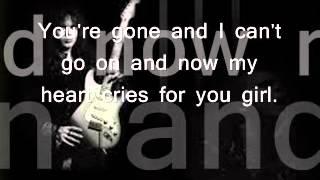 Yngwie Malmsteen - Hold on Lyric