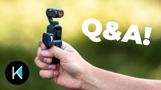 DJI Osmo Pocket BETTER AUDIO, 120fps 1080p, and Autofocus UPDATE
