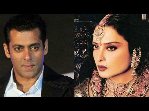 Here's What Salman Khan Felt Working With Rekha!