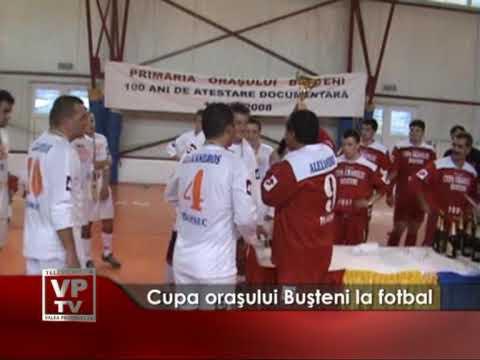 Cupa oraşului Buşteni la fotbal