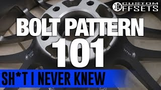 Kirk is back to give you a quick run down on the differences between single drilled and dual drilled wheels, as well as some helpful information pertaining to bolt patterns! Get your new set up at  www.customoffsets.com