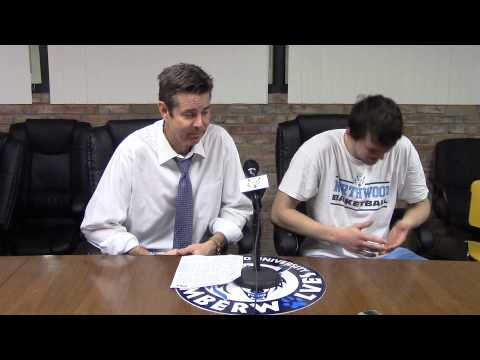 Northwood University Men's Basketball (1/24/15) NU 78, GVSU 70 - Press Conference