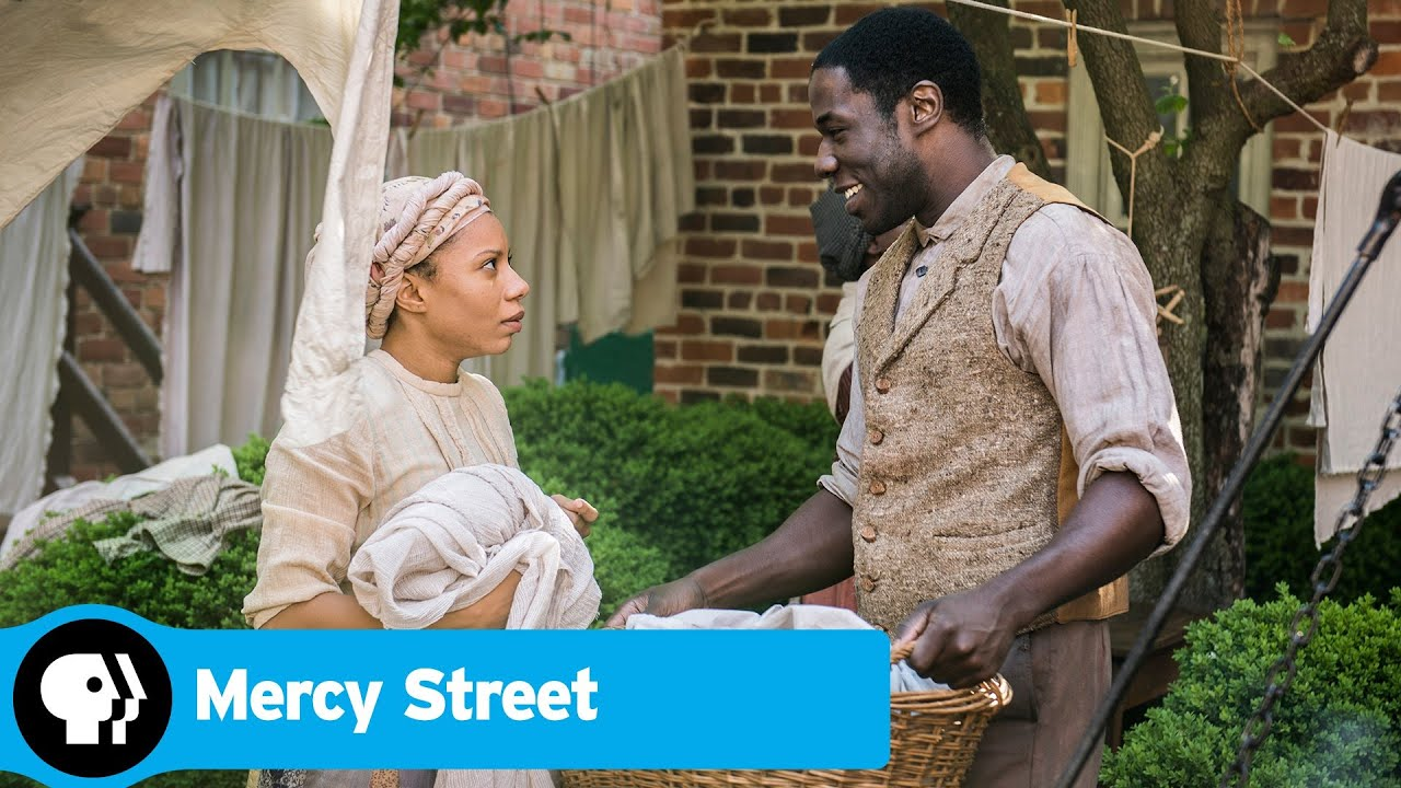MERCY STREET | Samuel Diggs and Aurelia Johnson | PBS