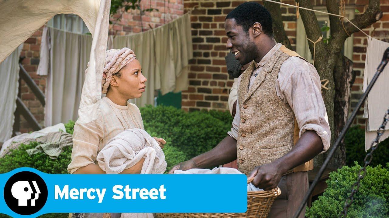 MERCY STREET | Samuel Diggs and Aurelia Johnson | PBS