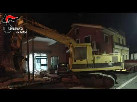 Assalti ai bancomat nel catanese VIDEO