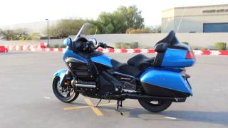 6. GO AZ MOTORCYCLES HONDA GOLD WING AUDIO COMFORT NAVI XM ABS - ULTRA BLUE