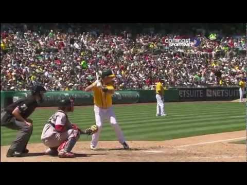 baseball - NO COPYRIGHT INFRINGEMENT INTENDED. Quick Highlight for the Oakland Athletics' first half of the 2012 MLB Season! Comment Like Subscribe and Enjoi :D I do no...