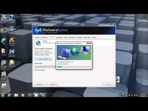 Malwarebytes Anti-Malware tutorial