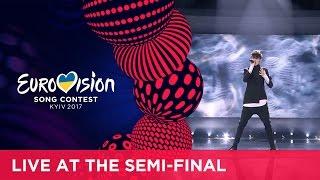 Video Kristian Kostov - Beautiful Mess (Bulgaria) LIVE at the second Semi-Final MP3, 3GP, MP4, WEBM, AVI, FLV September 2018